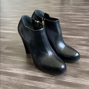 MIU MIU Leather Booties